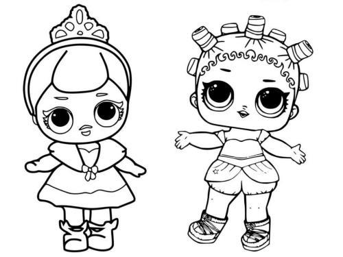 disegni da colorare lol online