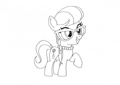 Disegni da colorare My Little Pony 2