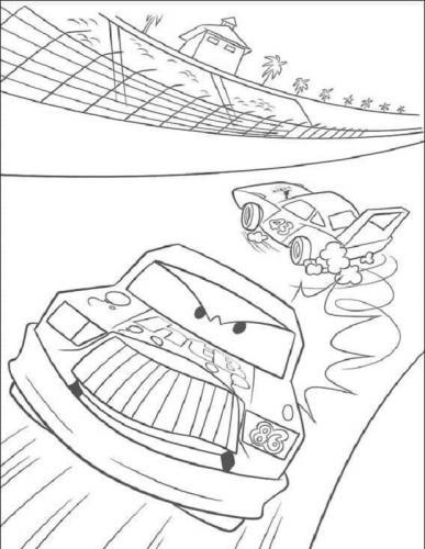 disegni da colorare on line Cars
