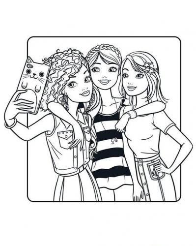 disegni da colorare online barbie