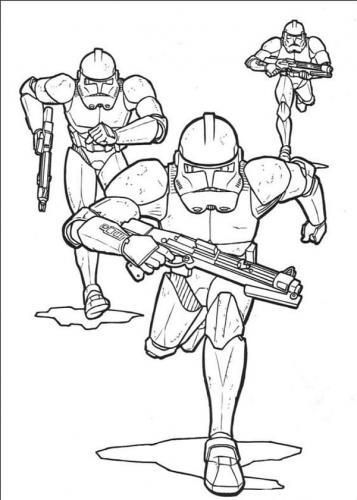 Disegni da colorare online Star Wars