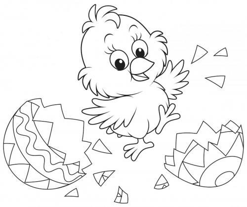 disegni da colorare pasqua per bambini