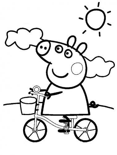 Disegno Peppa Pig Da Colorare.Peppa Pig 72 Disegni Da Stampare E Colorare A Tutto Donna