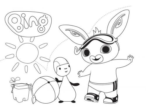 disegni da colorare per bambini bing