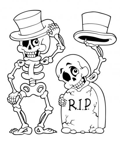 scheletri buffi