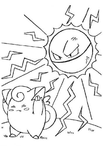 disegni da colorare Pokémon Sole e Luna