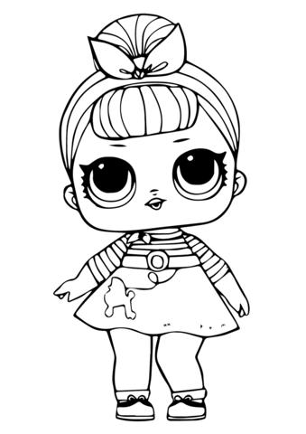 disegni da colorare principesse lol