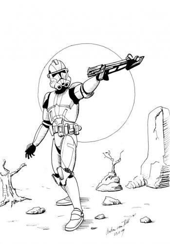 Disegni da colorare Star Wars
