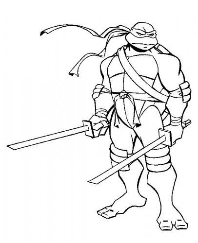 disegni da colorare tartarughe ninja online
