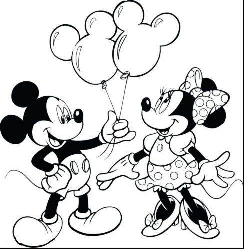 disegni da colorare topolino e minnie