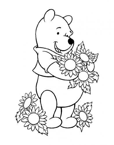 disegni da colorare winnie the pooh