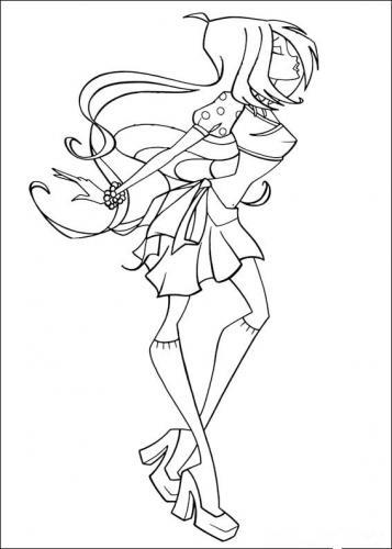 disegni da colorare winx