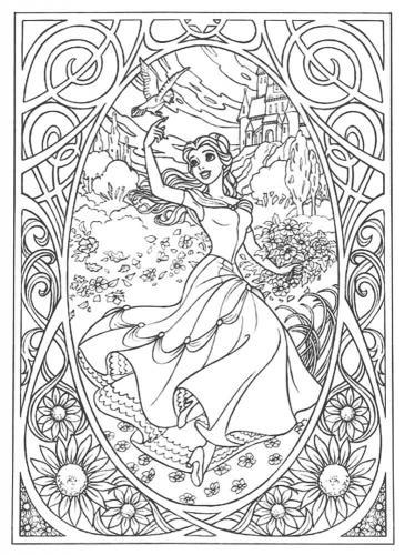 disegno Belle