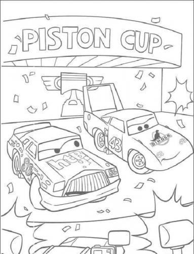 disegni da stampare Cars