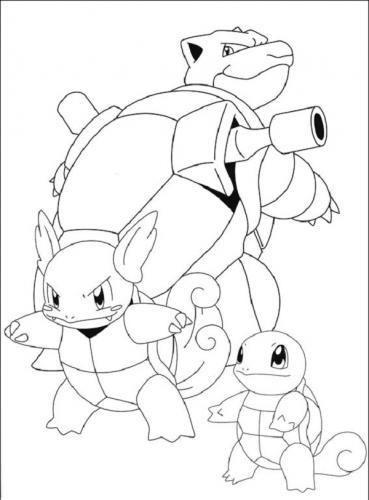 disegni da stampare dei Pokémon