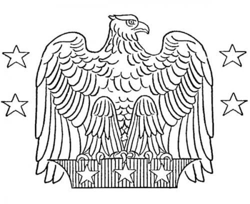 disegni da stampare di aquile