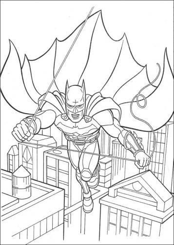 disegni da stampare di batman