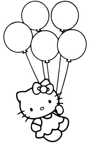 disegni da stampare di hello kitty
