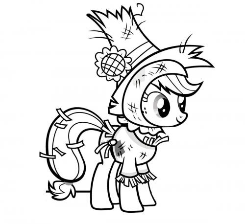 Disegni da stampare di My Little Pony