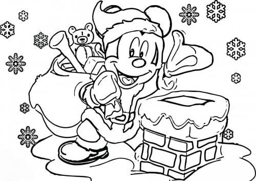 disegni da stampare di topolino