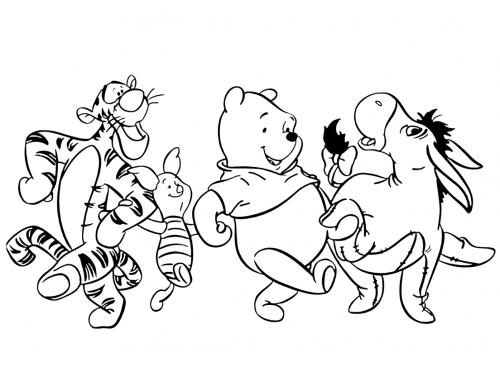 disegni da stampare di winnie thepooh