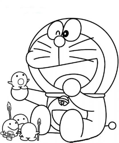 Disegni da stampare Doraemon