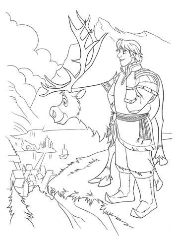 Kristoff e Sven