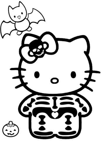 disegni da stampare e colorare hello kitty