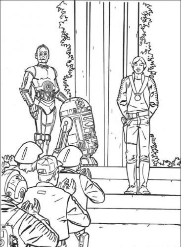 Disegni da stampare e colorare Star Wars