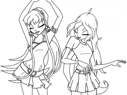 Bloom e Stella ballano