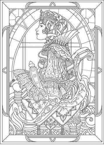 disegno di una regina