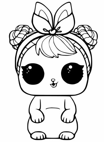 disegni da stampare lol pets