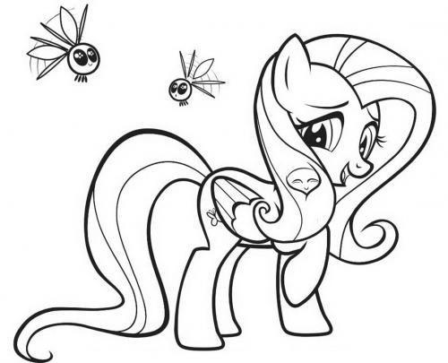 Disegni da stampare My Little Pony