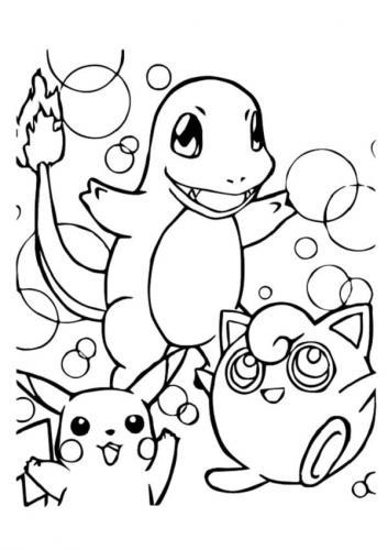 disegni da stampare Pokémon