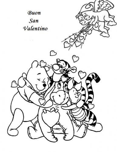 disegni da stampare san valentino