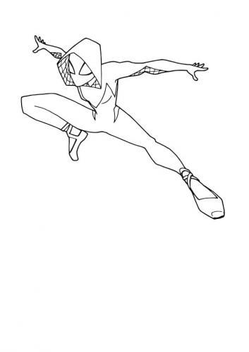 disegni da stampare spiderman