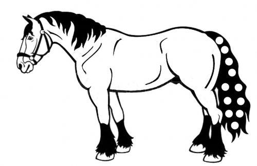 disegni dei cavalli