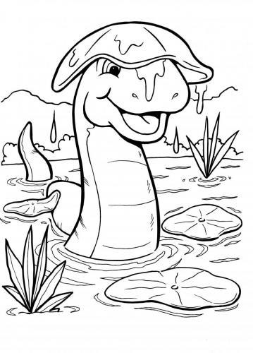 disegni dei dinosauri