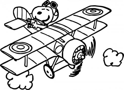 disegni di aerei da stampare