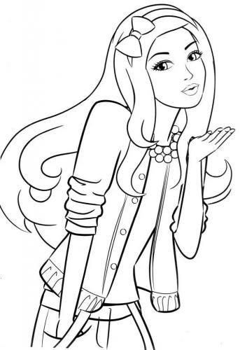 disegni di barbie