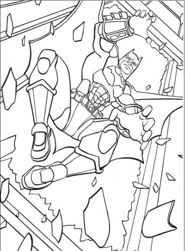 disegni-di-batman da stampare e colorare