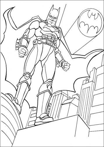 disegni di batman da stampare