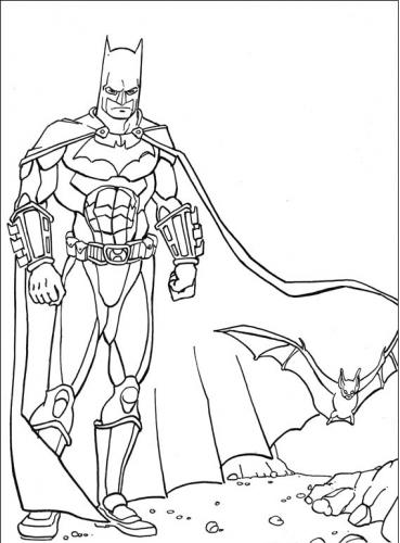 disegni di batman