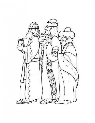 I Re Magi che portano un dono