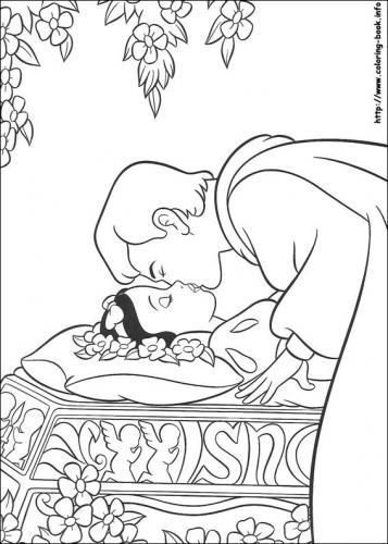 Il principe bacia Biancaneve
