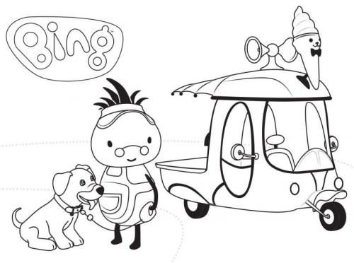 disegni di bing da stampare e colorare