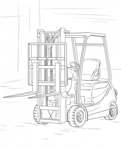 disegni di camion da colorare