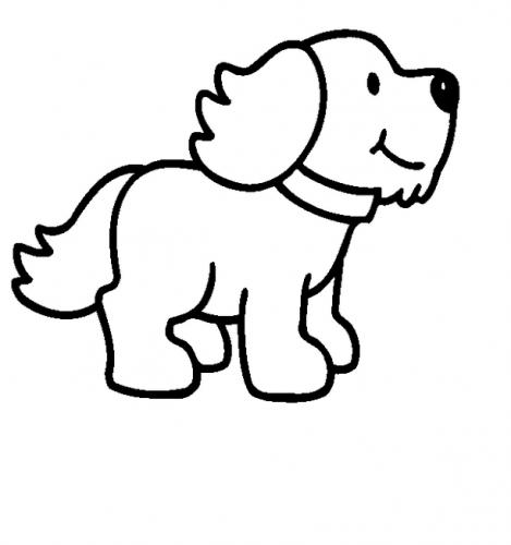 disegni di cani da stampare e colorare gratis