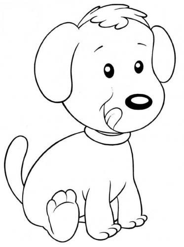 disegni di cani da stampare