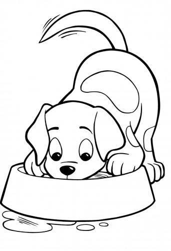 disegni di cani per bambini piccoli